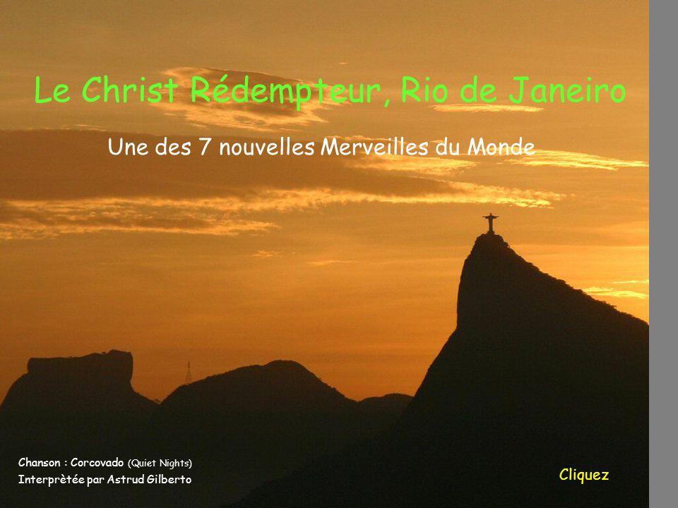 Le Christ Rédempteur, Rio de Janeiro