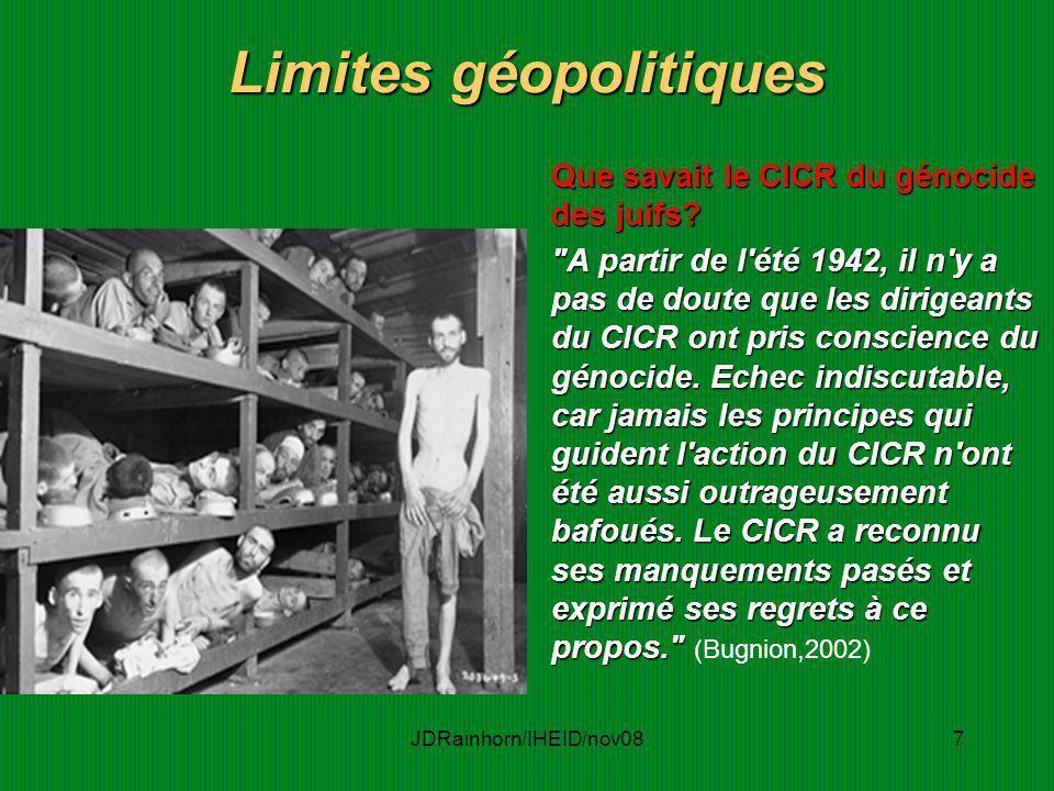 Limites géopolitiques