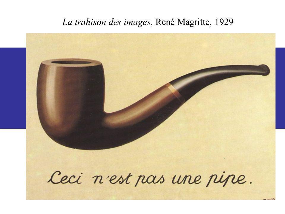 La trahison des images, René Magritte, 1929