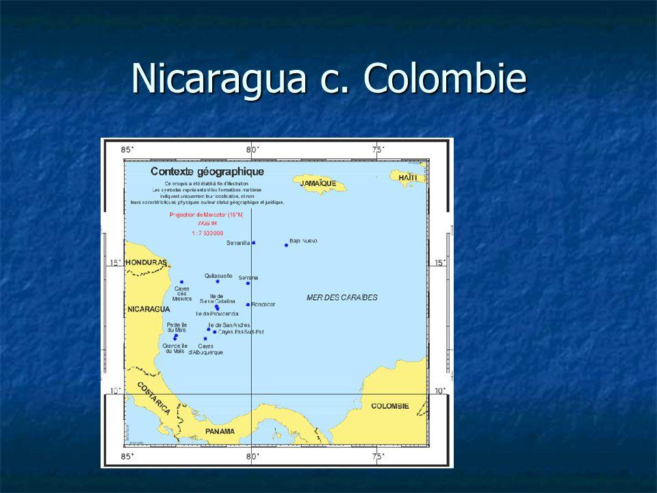 Nicaragua c. Colombie
