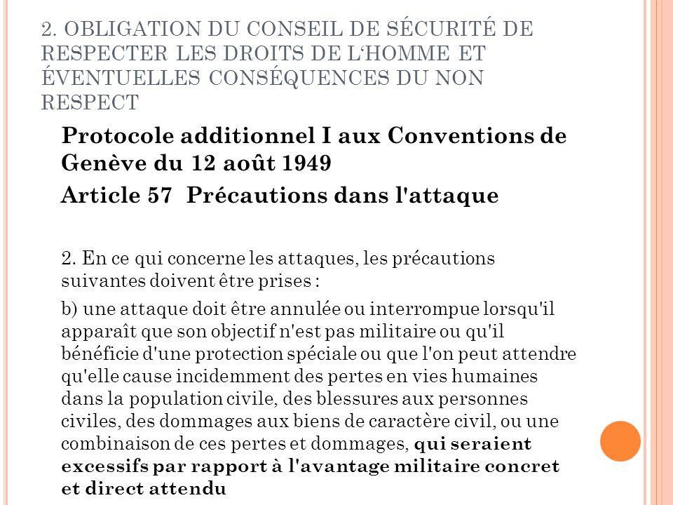 Protocole additionnel I aux Conventions de Genève du 12 août 1949