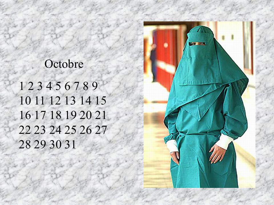 Octobre 1 2 3 4 5 6 7 8 9 10 11 12 13 14 15 16 17 18 19 20 21 22 23 24 25 26 27 28 29 30 31. RT.