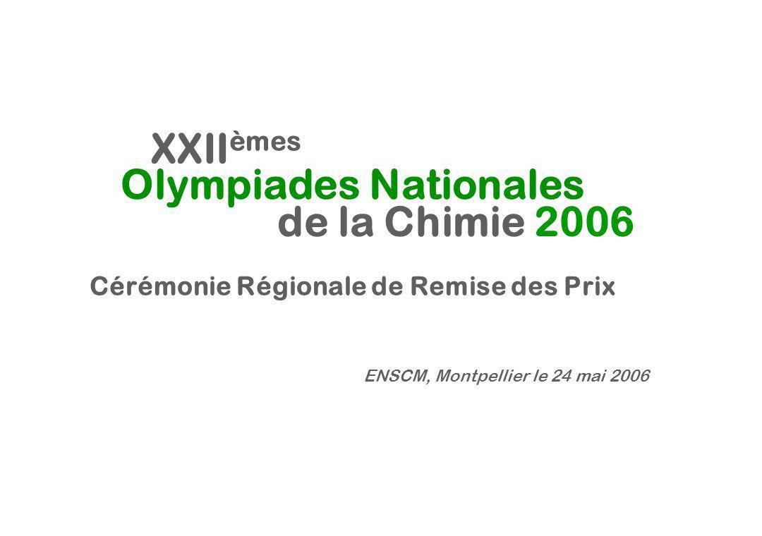 Cérémonie Régionale de Remise des Prix Olympiades Nationales