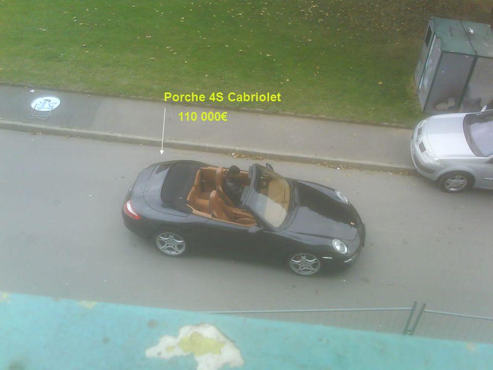 Porche 4S Cabriolet 110 000€