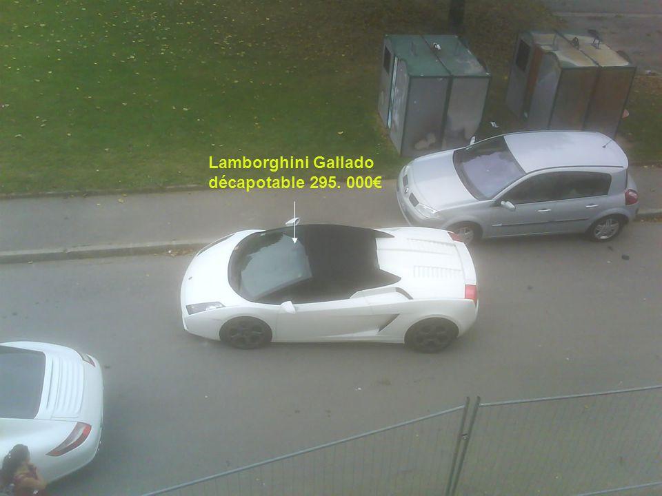 Lamborghini Gallado décapotable 295. 000€