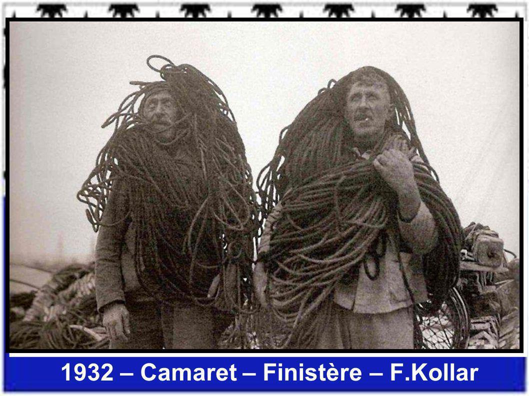1932 – Camaret – Finistère – F.Kollar