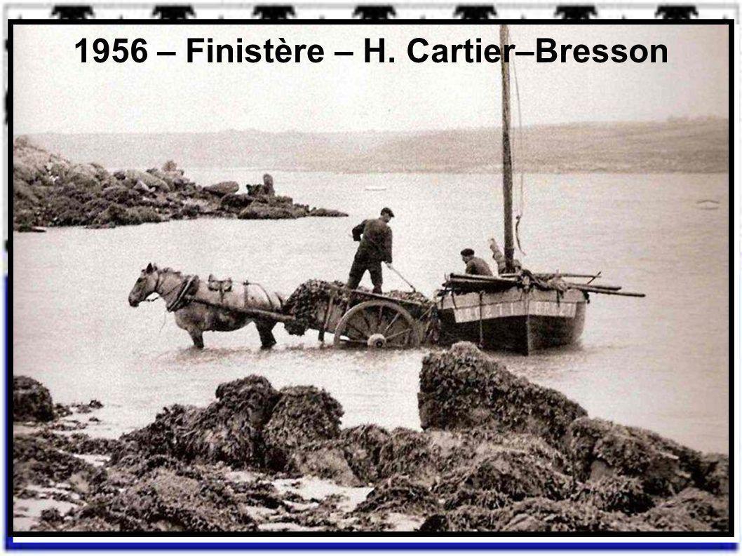 1956 – Finistère – H. Cartier–Bresson