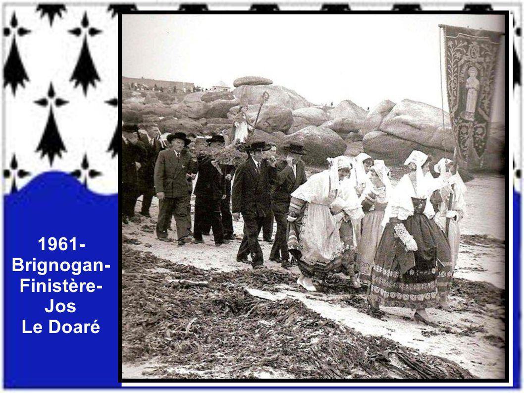 1961- Brignogan- Finistère- Jos Le Doaré