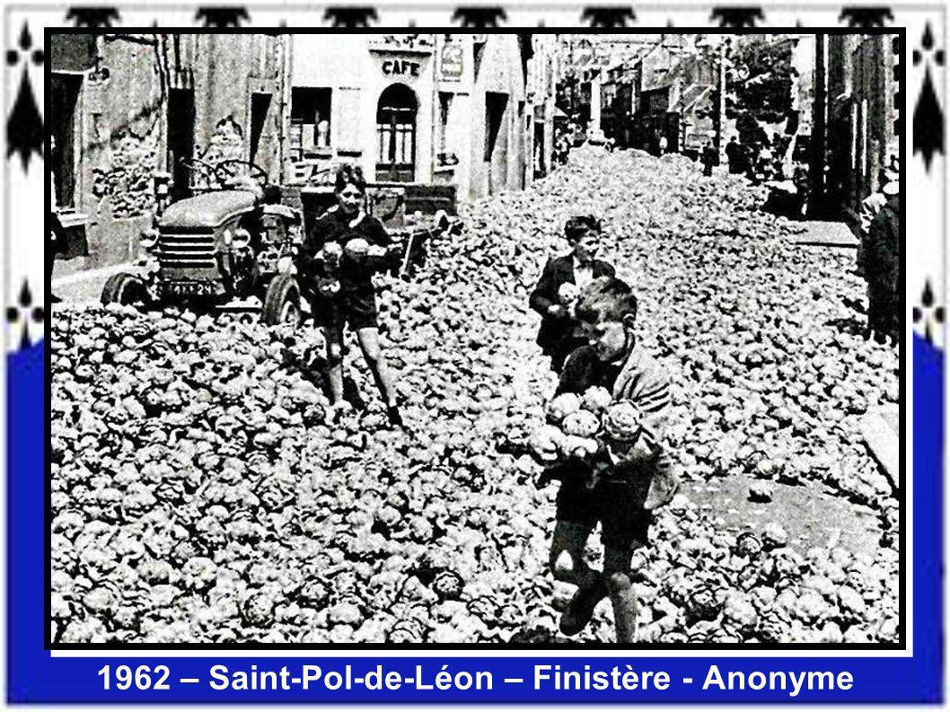 1962 – Saint-Pol-de-Léon – Finistère - Anonyme