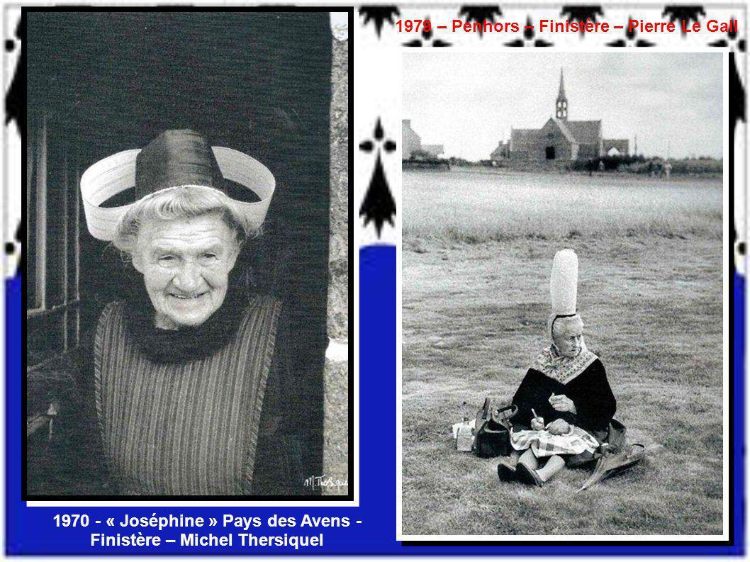 1970 - « Joséphine » Pays des Avens - Finistère – Michel Thersiquel