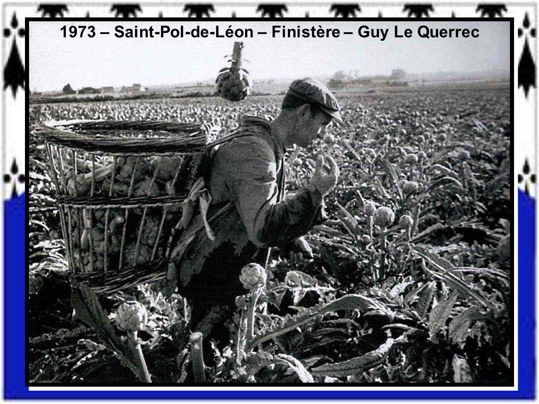 1973 – Saint-Pol-de-Léon – Finistère – Guy Le Querrec