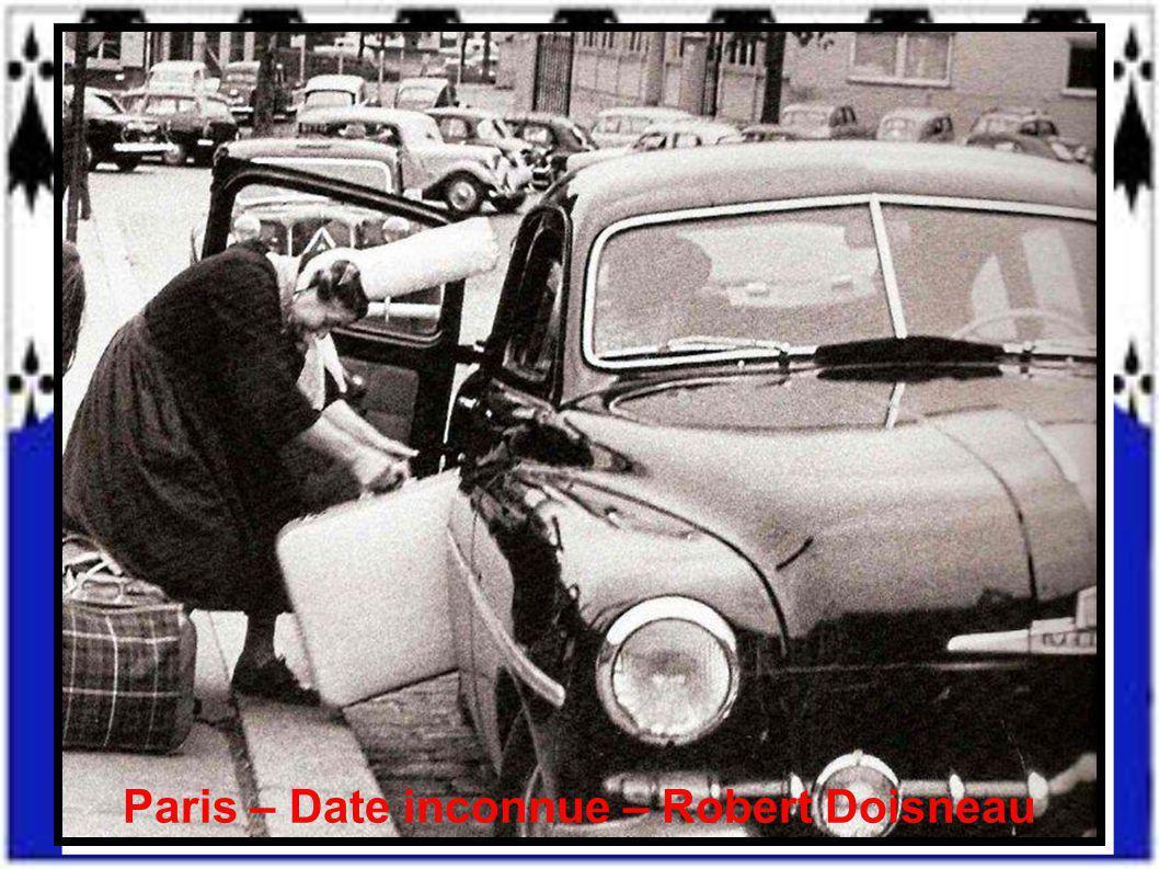 Paris – Date inconnue – Robert Doisneau