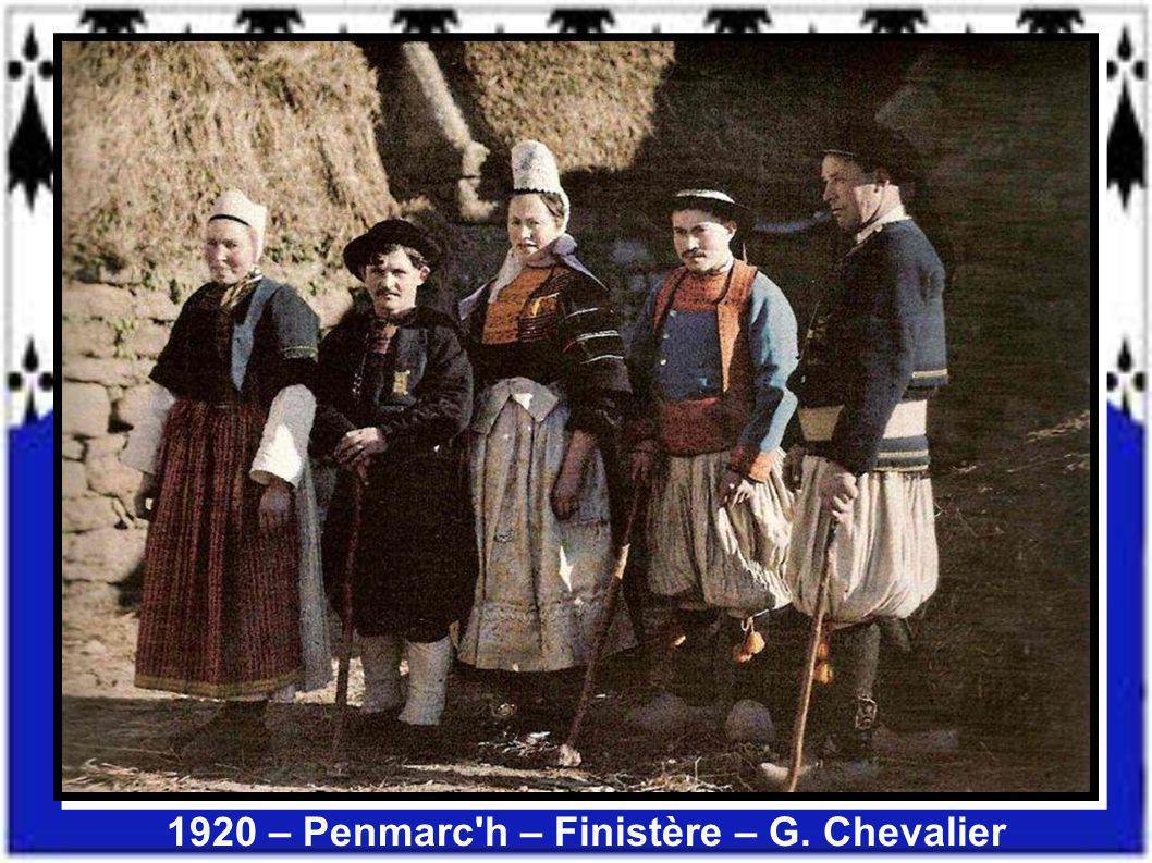1920 – Penmarc h – Finistère – G. Chevalier