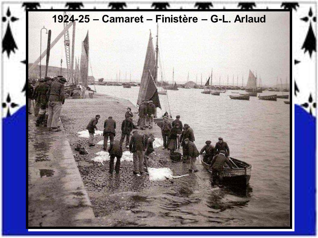 1924-25 – Camaret – Finistère – G-L. Arlaud