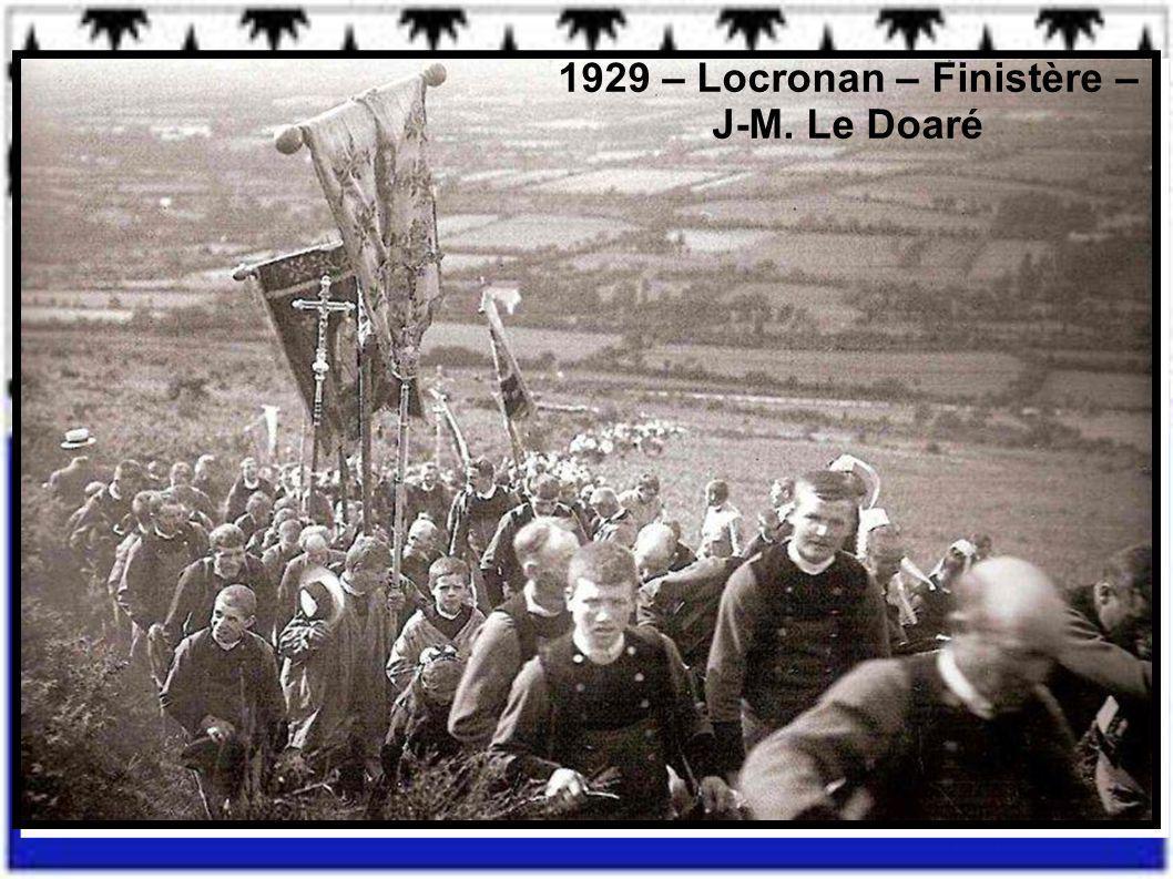 1929 – Locronan – Finistère – J-M. Le Doaré