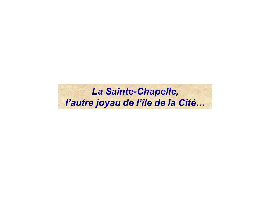 l'autre joyau de l'île de la Cité…