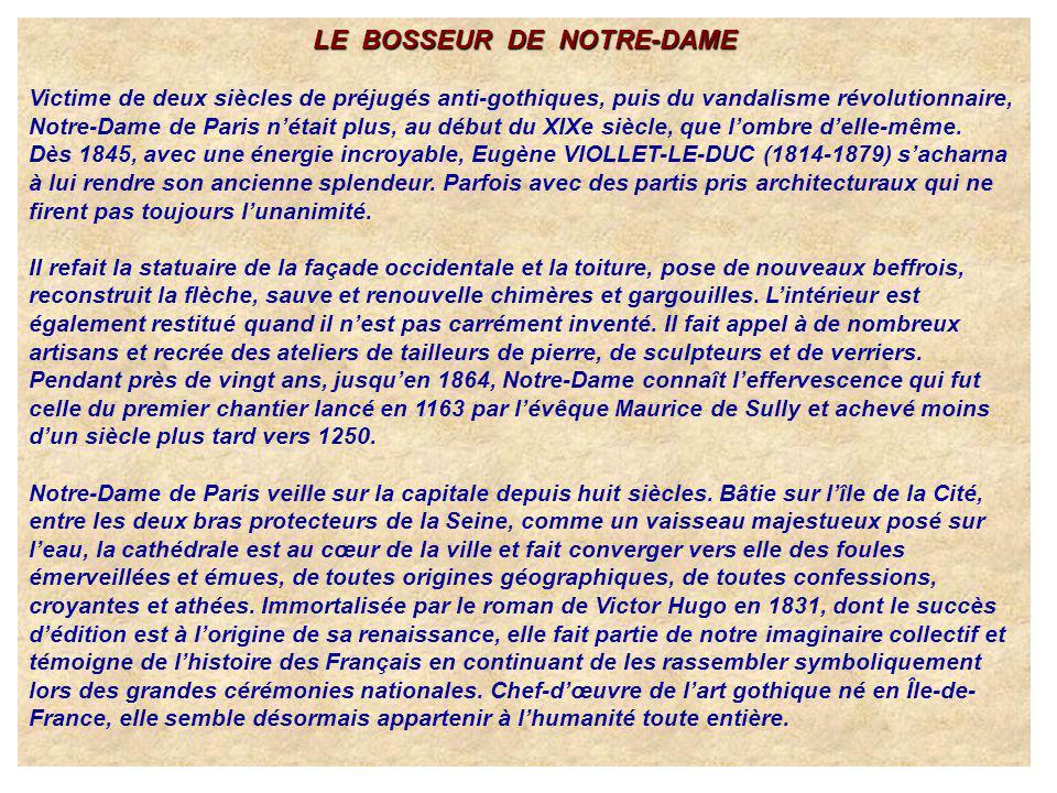 LE BOSSEUR DE NOTRE-DAME