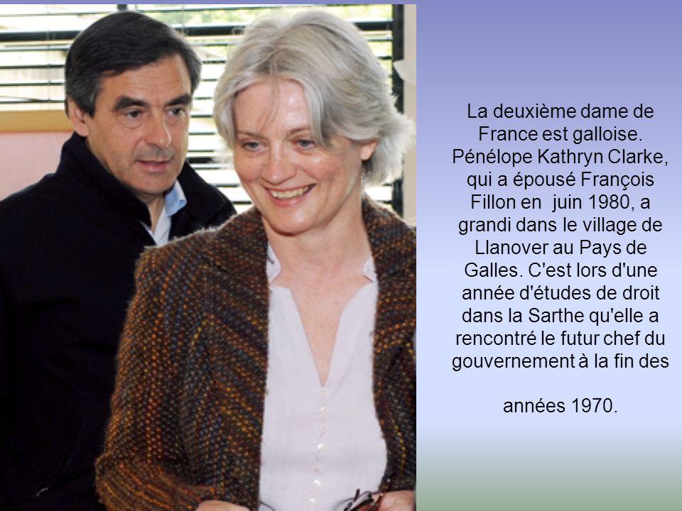 La deuxième dame de France est galloise