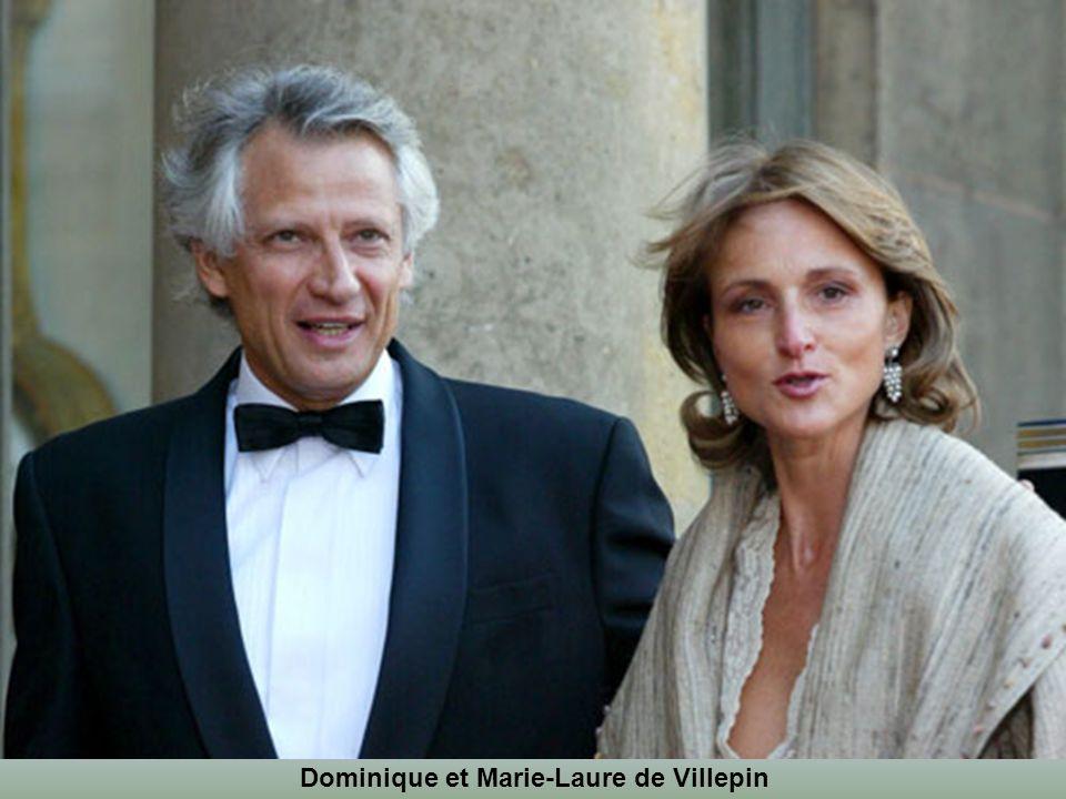 Dominique et Marie-Laure de Villepin