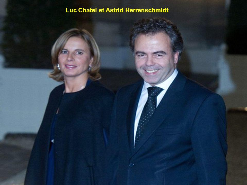 Luc Chatel et Astrid Herrenschmidt