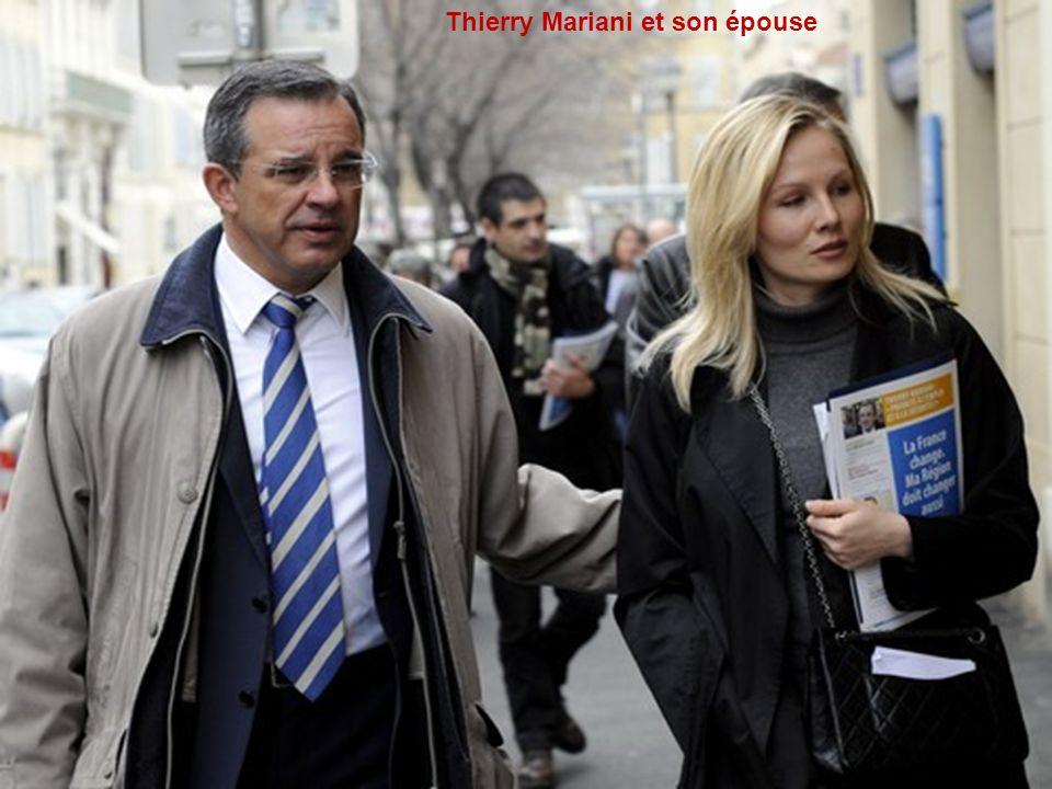 Thierry Mariani et son épouse