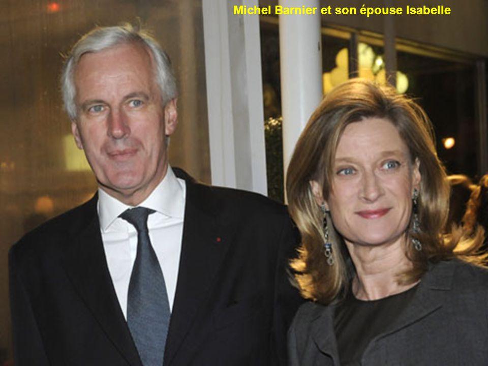 Michel Barnier et son épouse Isabelle