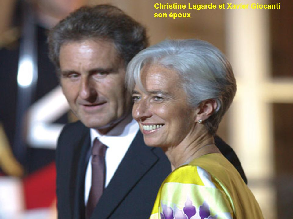 Christine Lagarde et Xavier Giocanti