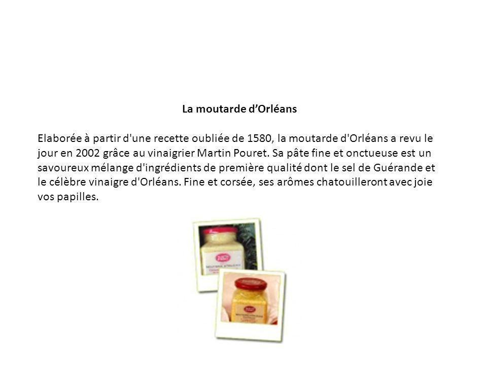 La moutarde d'Orléans