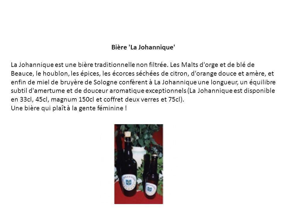 Bière La Johannique