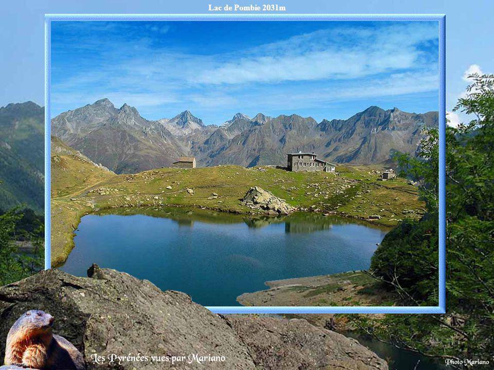 Lac de Pombie 2031m .