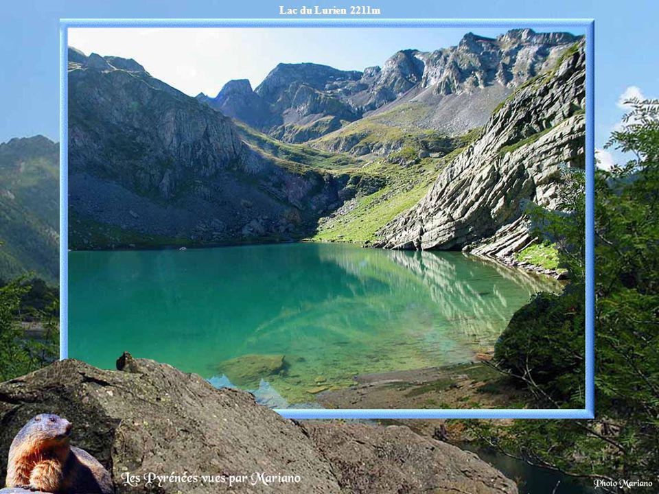 Lac du Lurien 2211m .
