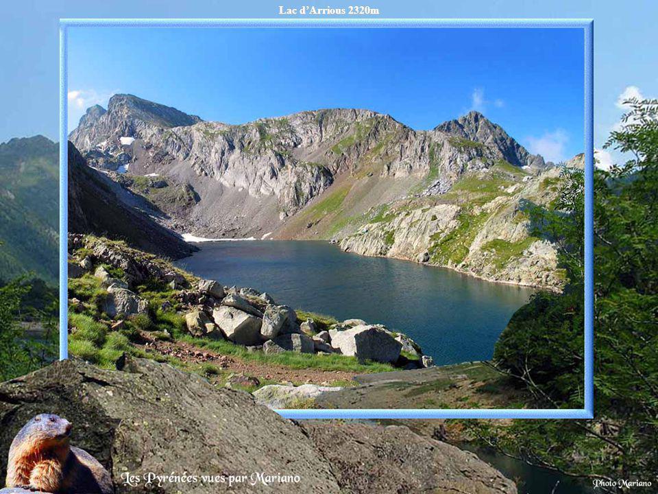 Lac d'Arrious 2320m .