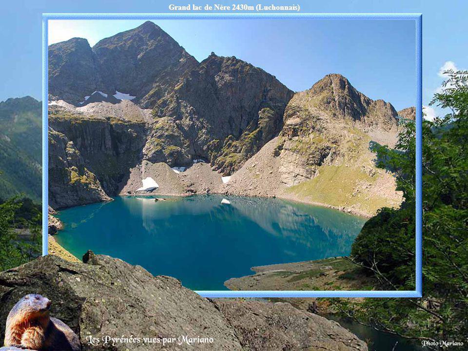Grand lac de Nère 2430m (Luchonnais)