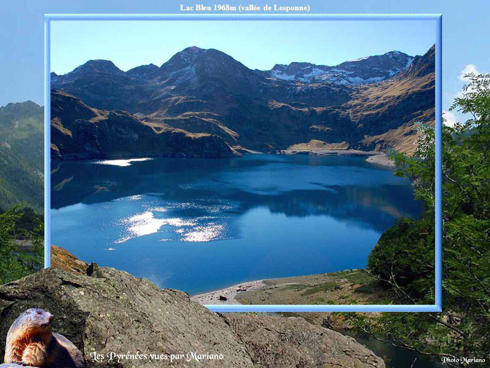 Lac Bleu 1968m (vallée de Lesponne)