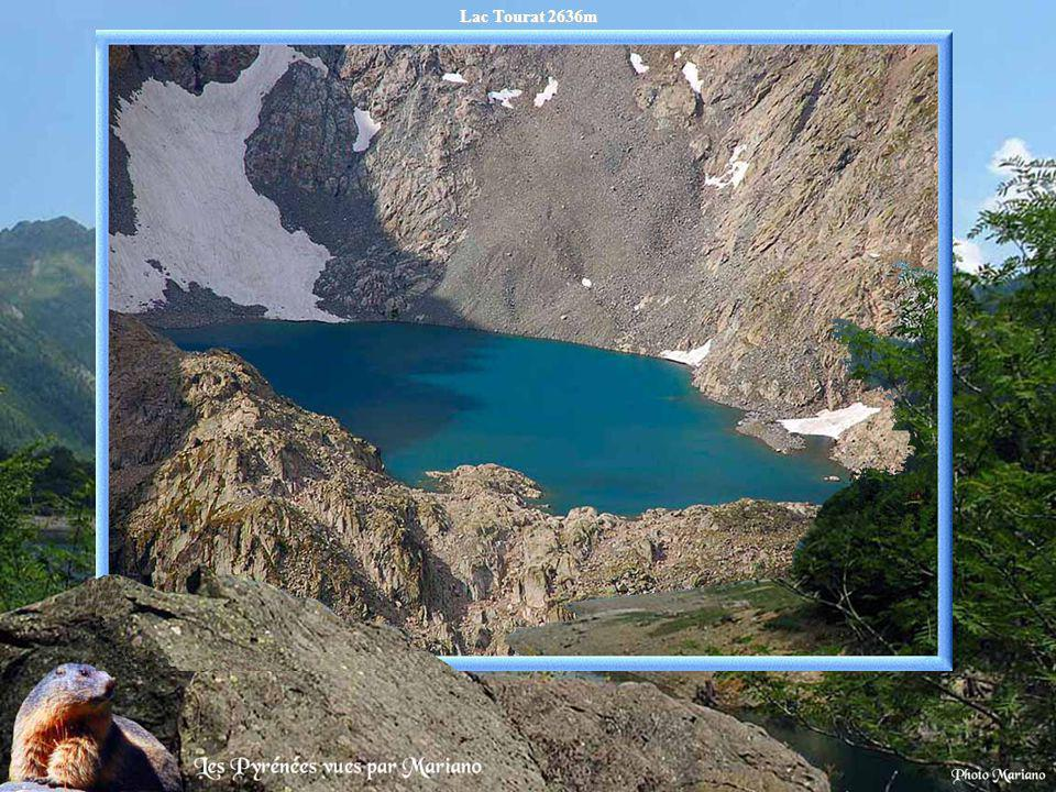 Lac Tourat 2636m .