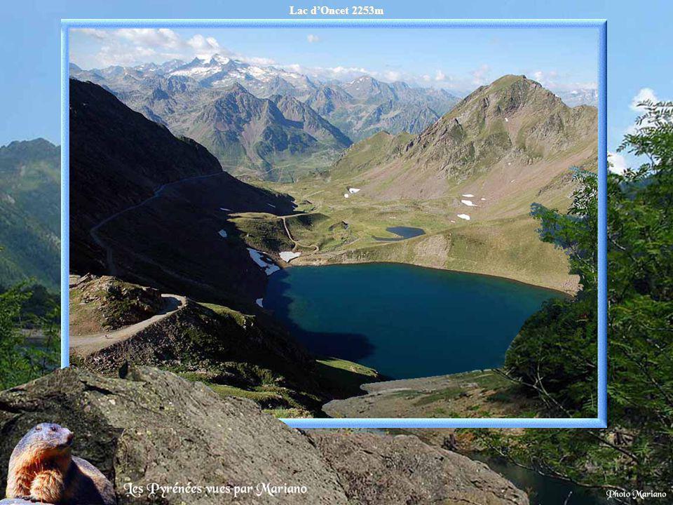 Lac d'Oncet 2253m .
