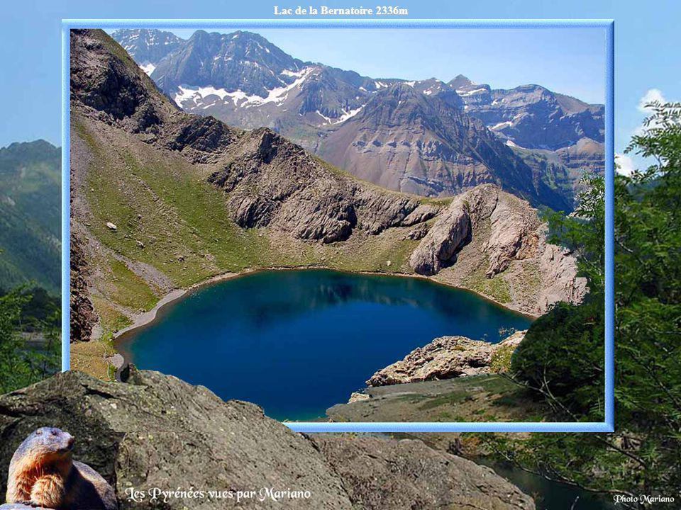 Lac de la Bernatoire 2336m .