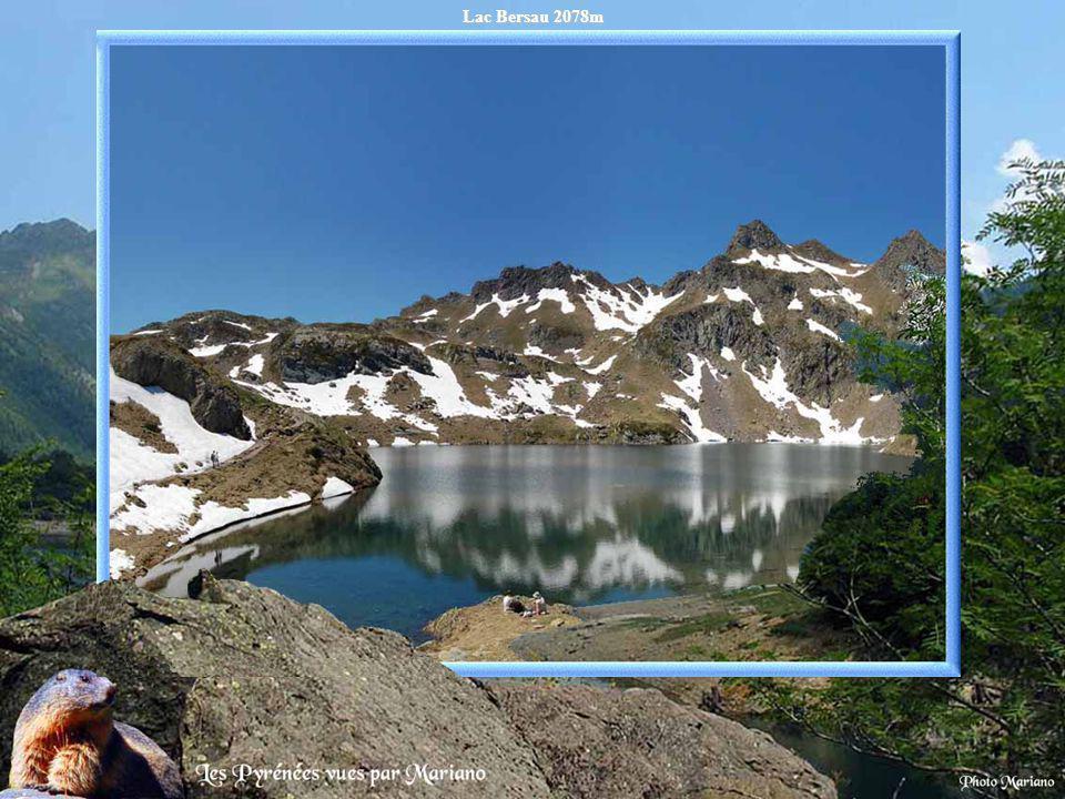 Lac Bersau 2078m .