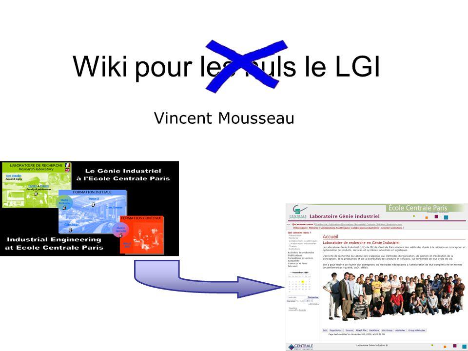 Wiki pour les nuls le LGI