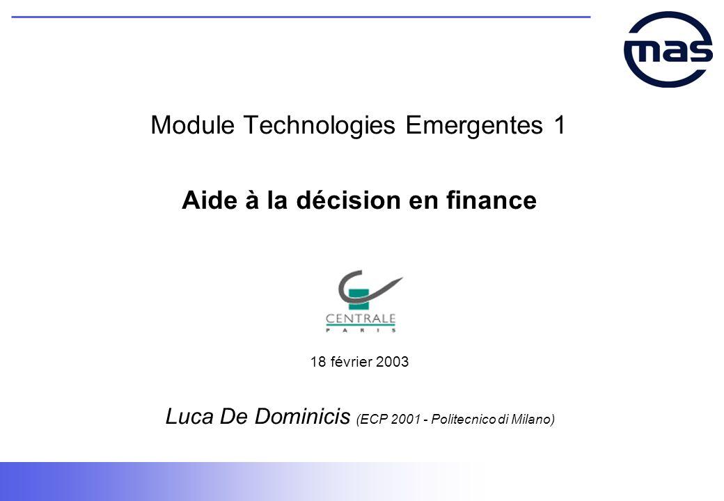 Module Technologies Emergentes 1