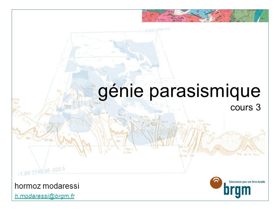 génie parasismique cours 3