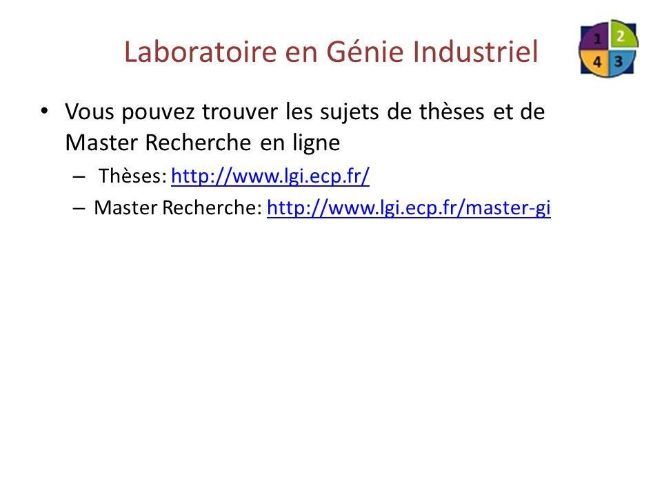 Laboratoire en Génie Industriel