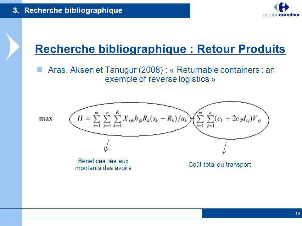 3. Recherche bibliographique