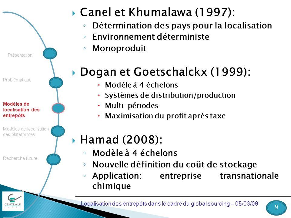 Dogan et Goetschalckx (1999):