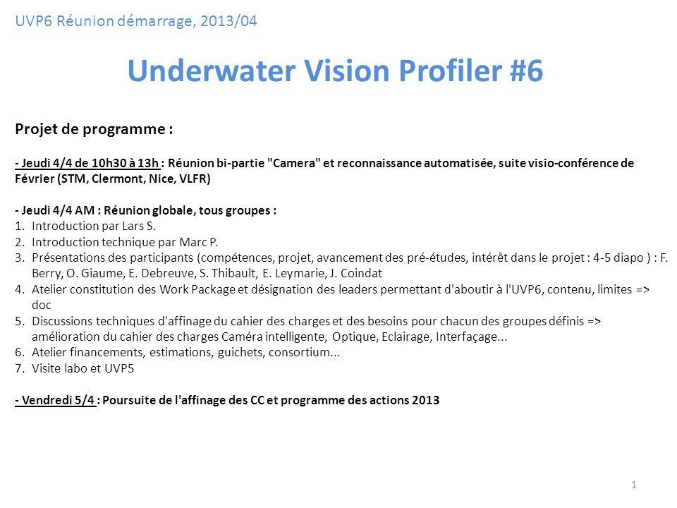 Underwater Vision Profiler #6