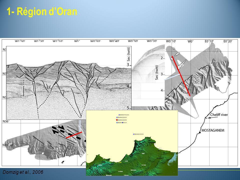 1- Région d'Oran Domzig et al., 2006