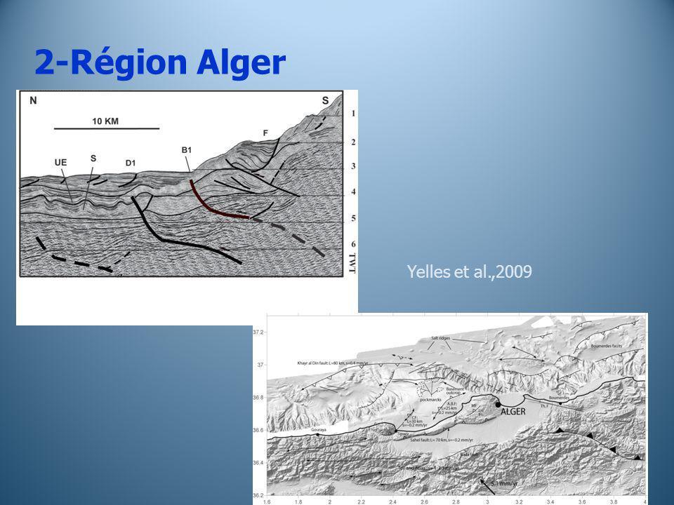 2-Région Alger Yelles et al.,2009