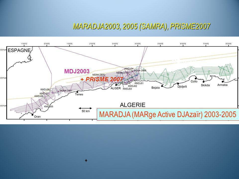 MARADJA2003, 2005 (SAMRA), PRISME2007