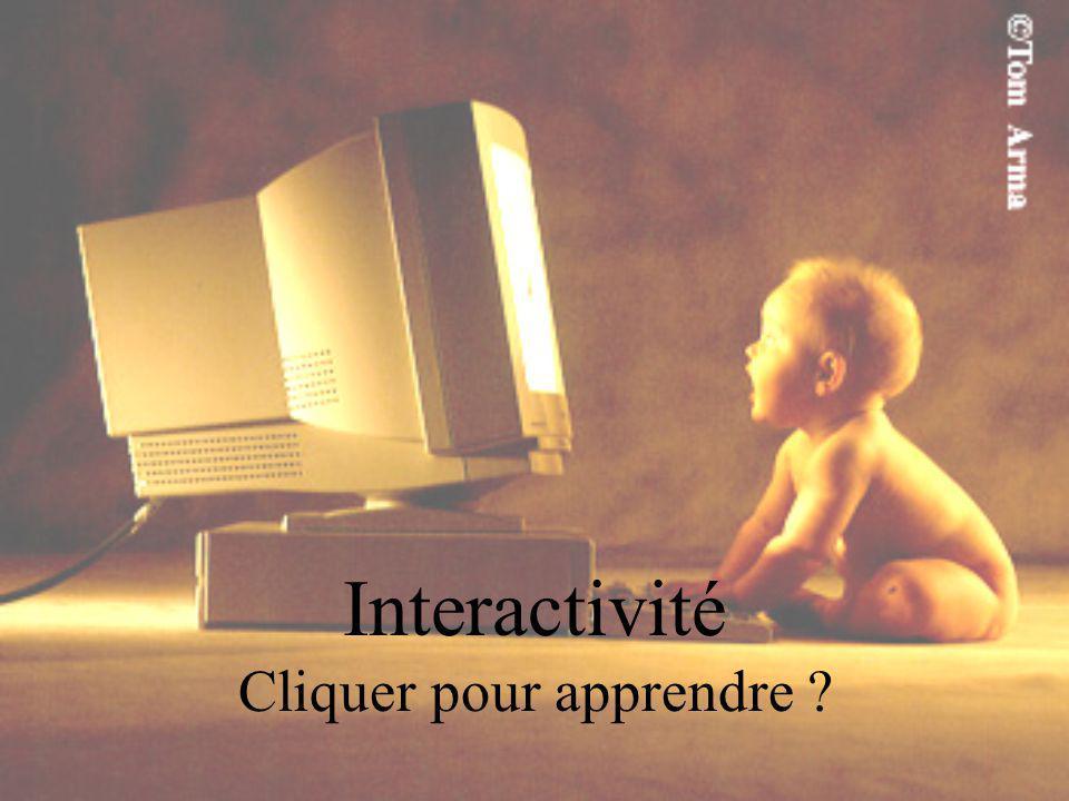 Interactivité Cliquer pour apprendre