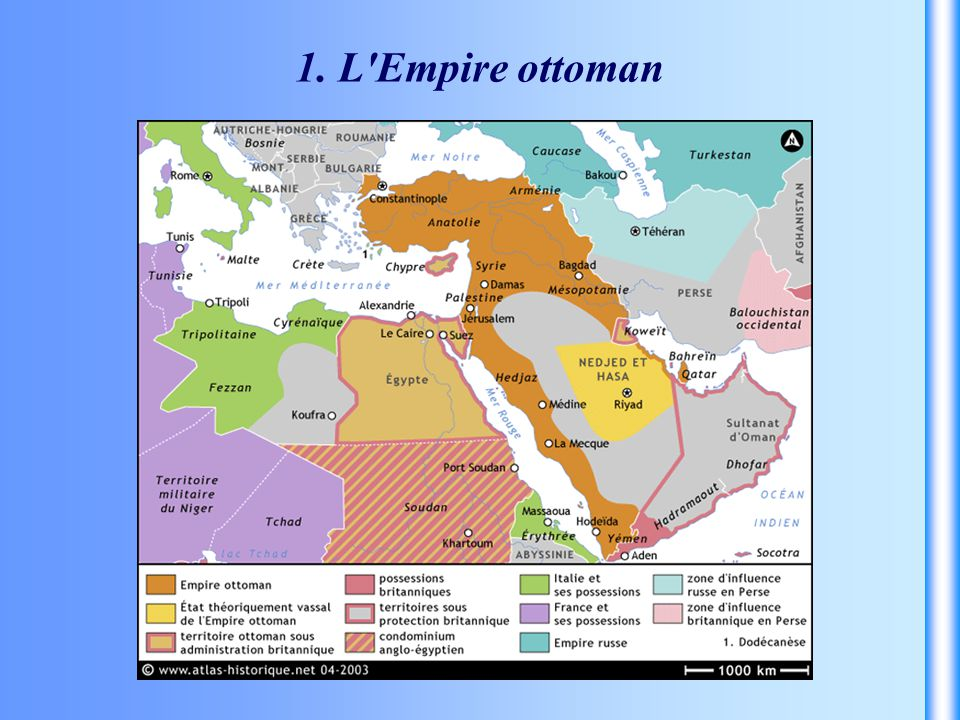 1. L Empire ottoman